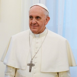 Pope Francis in March 2013 klein